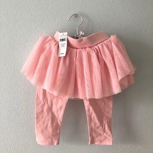 Baby Gap tutu leggings, Size 12-18 M